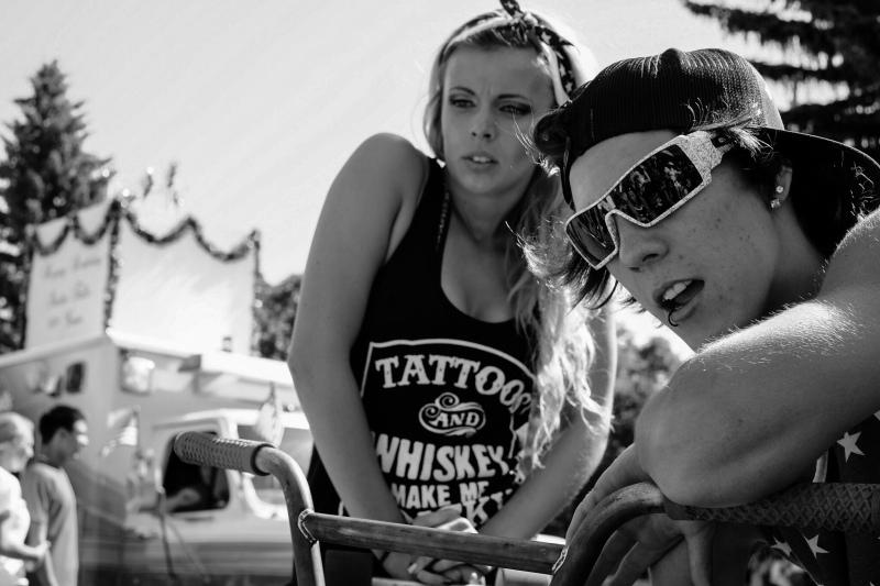 peyton wessells and tattoo girl fujifilm x-pro-1 street photographer chris wessells